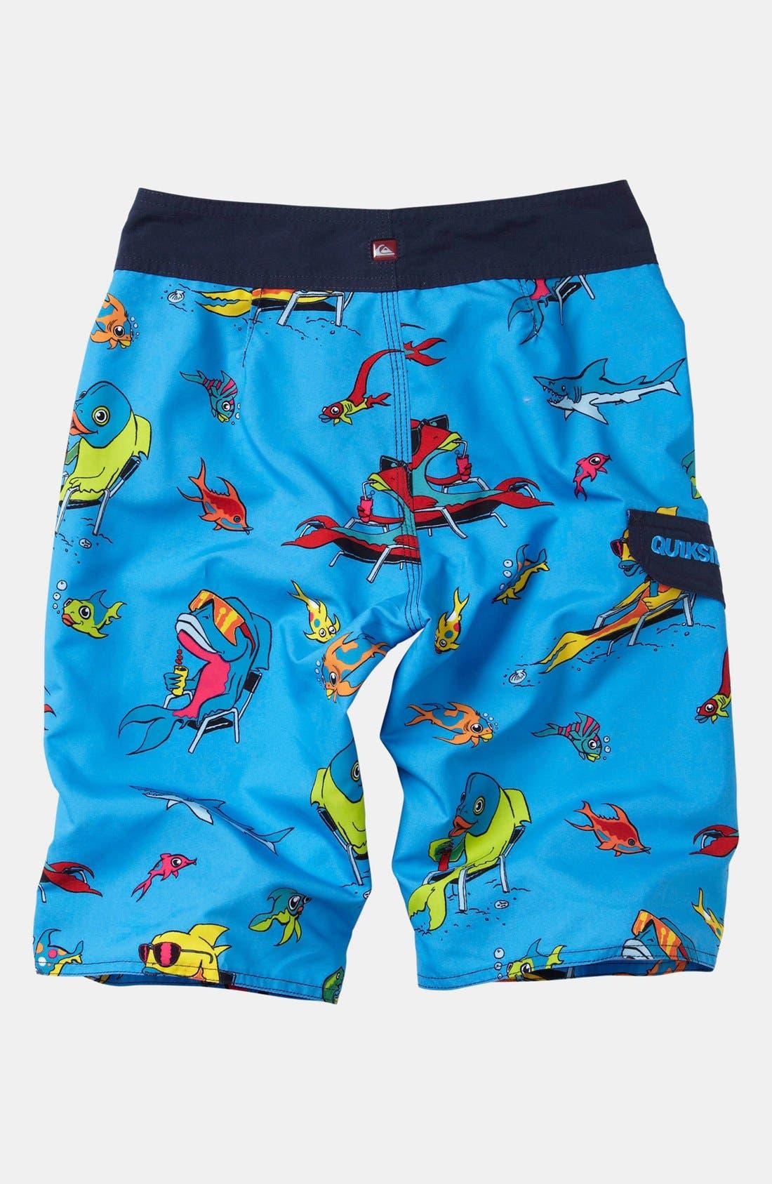 Alternate Image 2  - Quiksilver 'Fish Tacoz' Board Shorts (Big Boys)