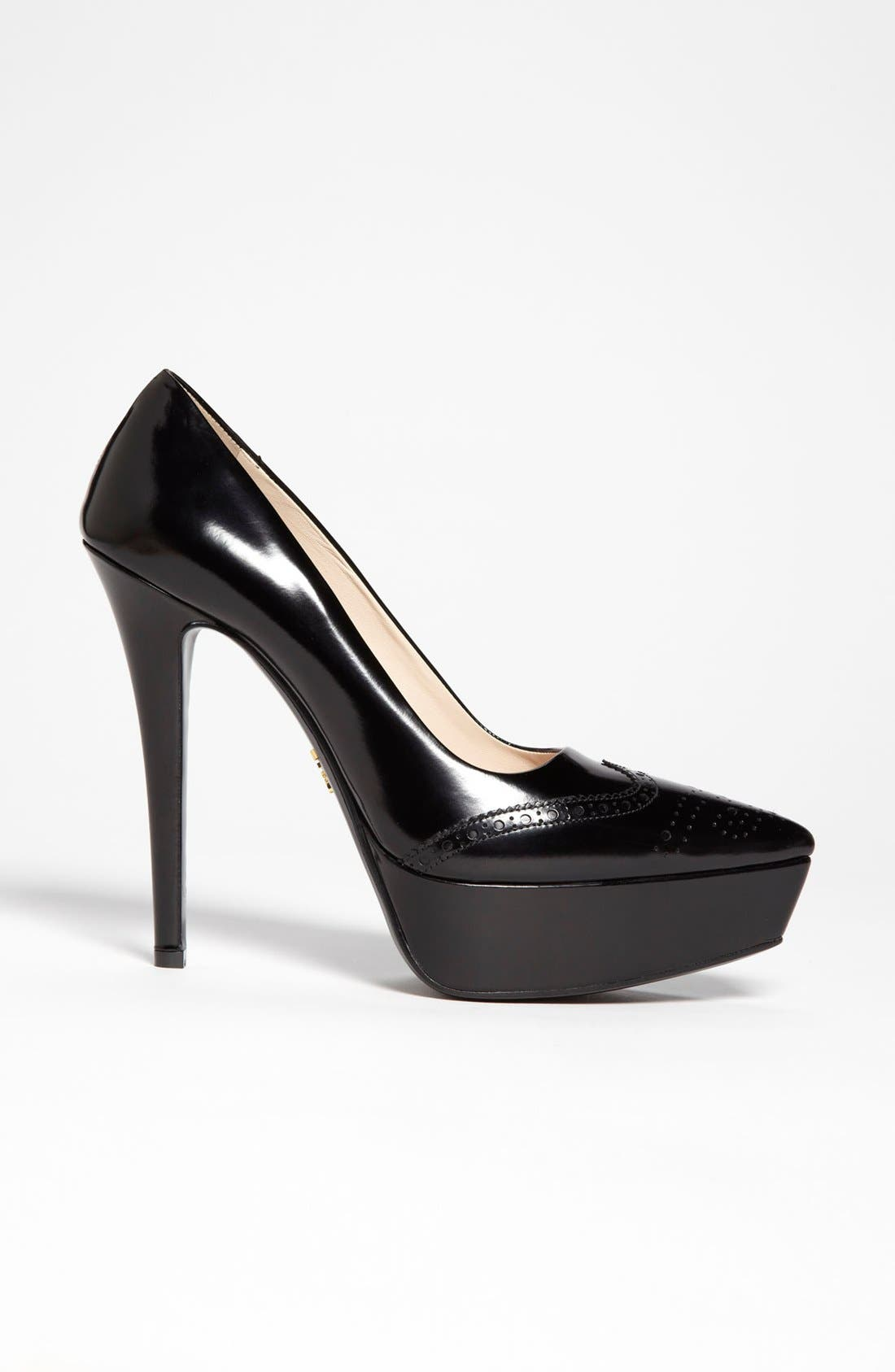 Alternate Image 4  - Prada Oxford Platform Pump