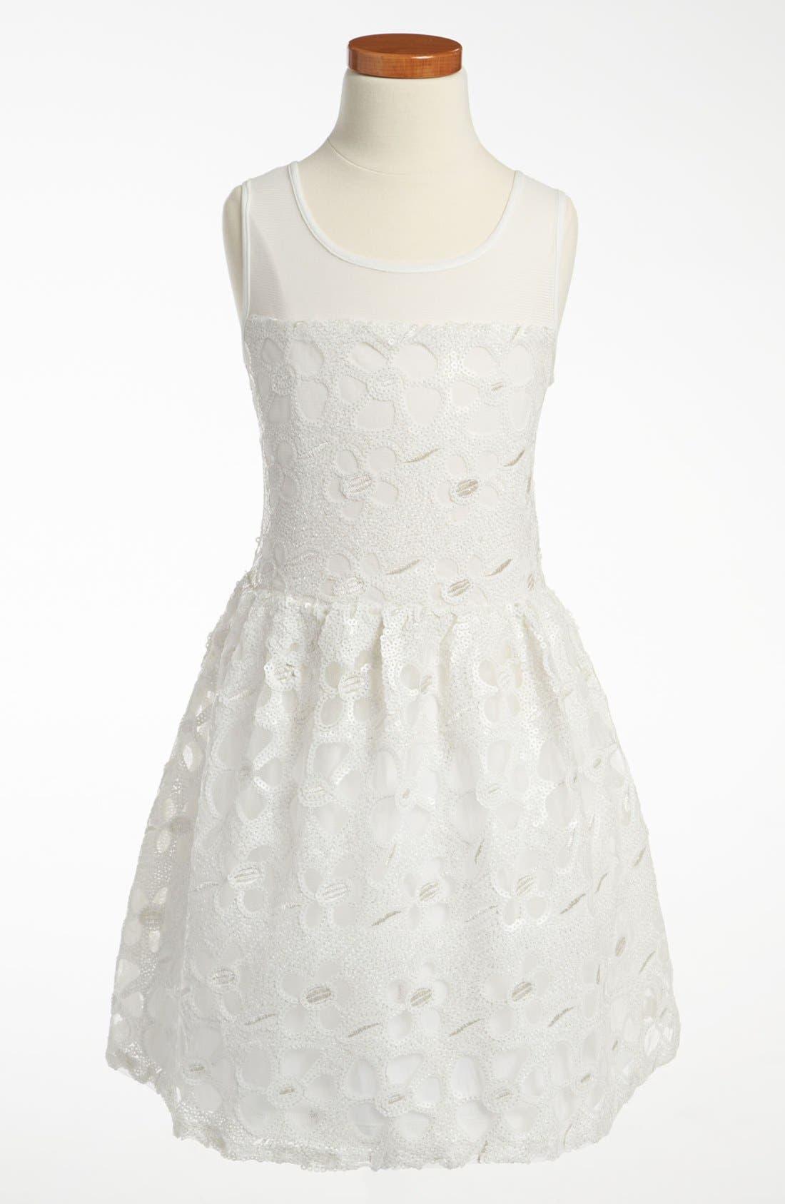 Main Image - Elisa B 'Daisy's Daisies' Dress (Big Girls)