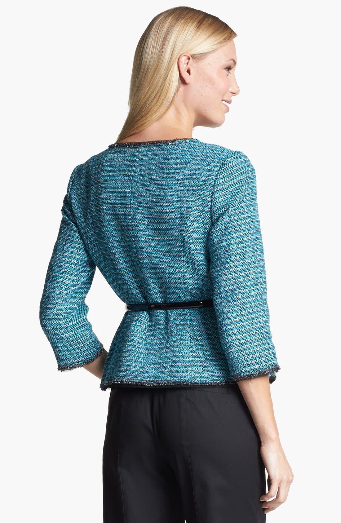 Alternate Image 2  - Classiques Entier® 'Adona' Tweed Jacket