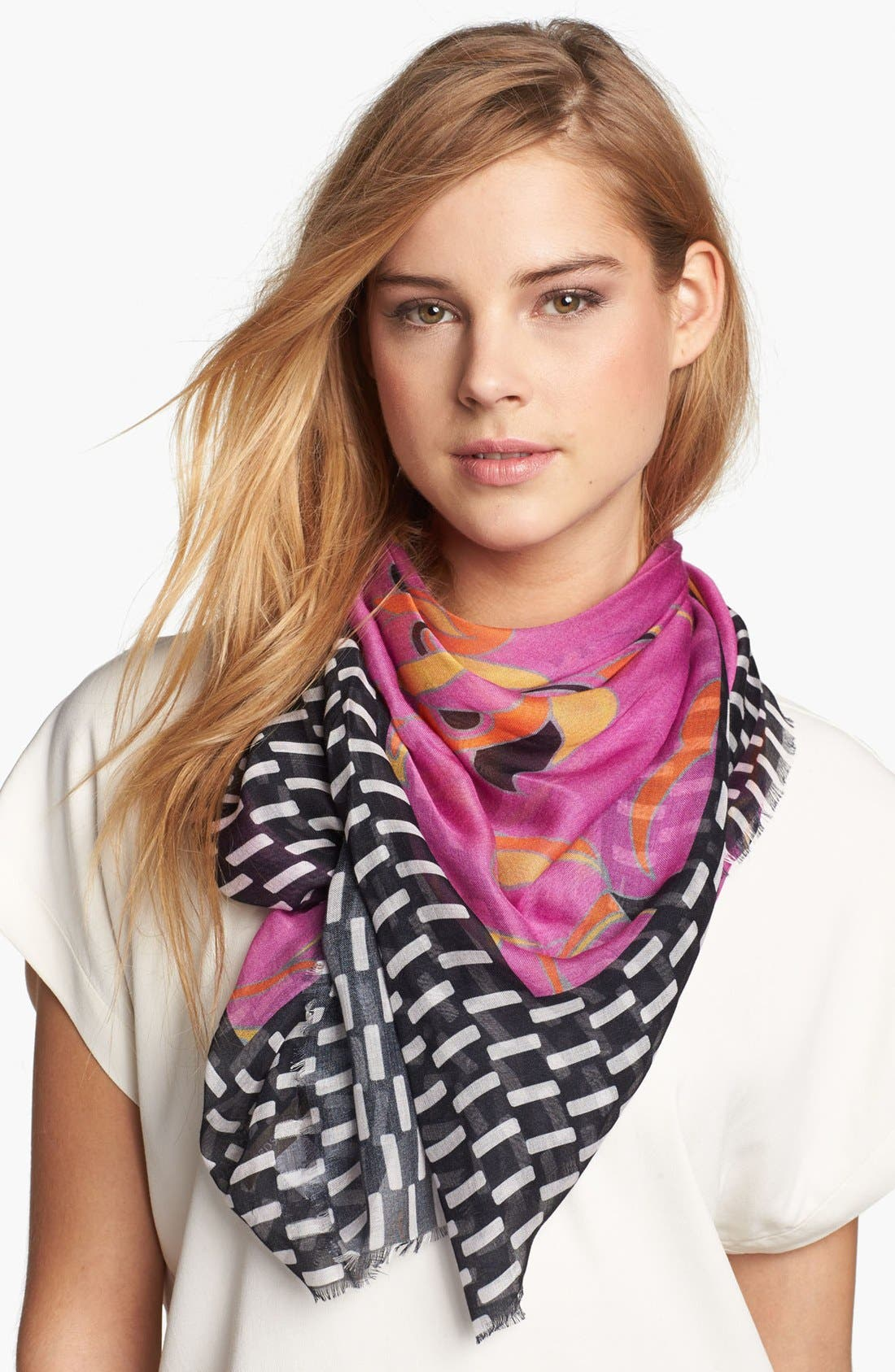 Alternate Image 1 Selected - Nordstrom 'Liberty Floral' Scarf