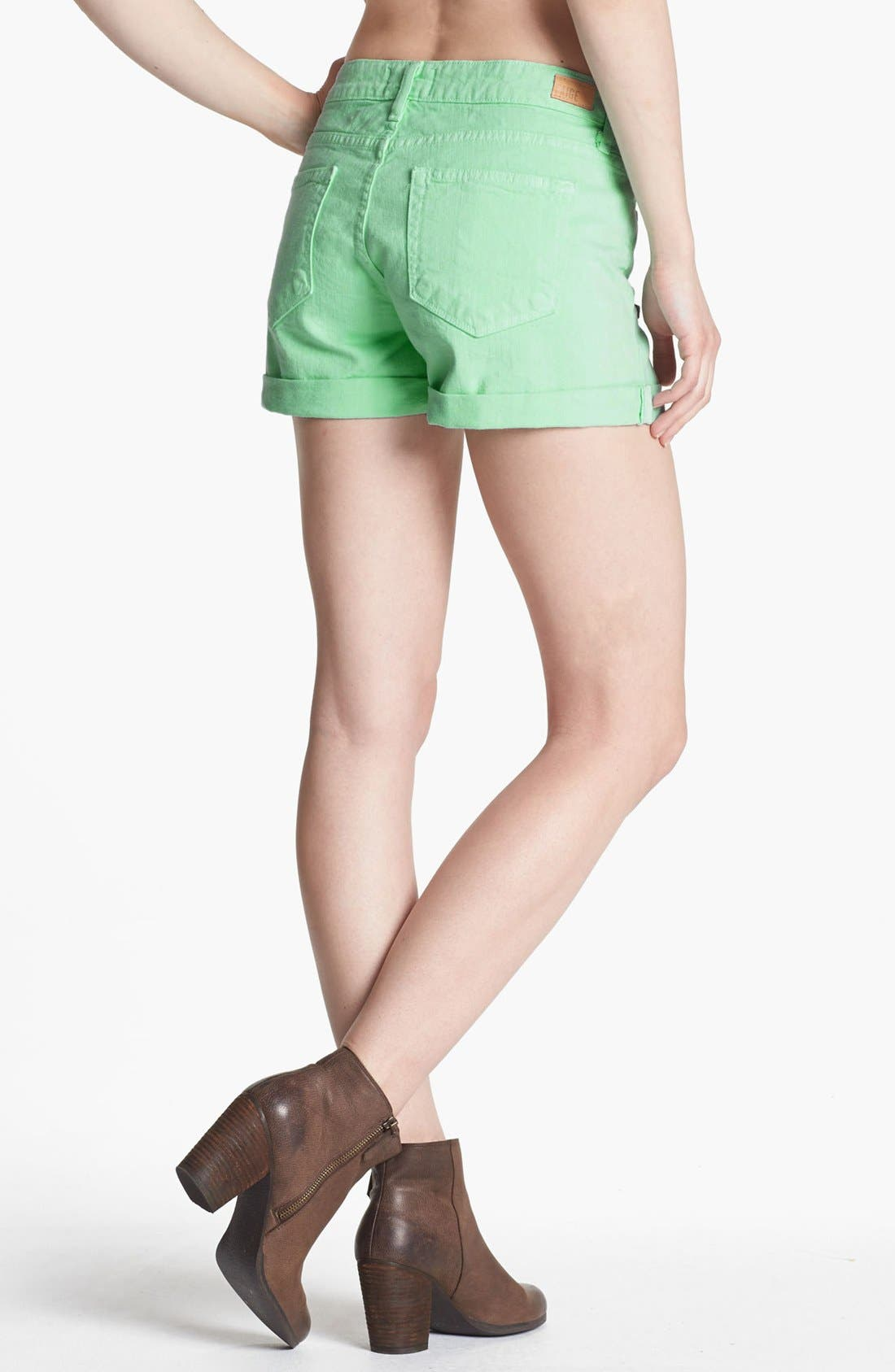 Alternate Image 2  - Paige Denim 'Jimmy Jimmy' Shorts (Glass)