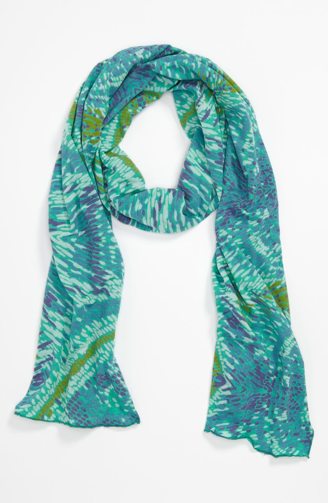 Alternate Image 1 Selected - Sustainable Kids Organic Cotton & Recycled Plastic Bottle Scarf (Girls)