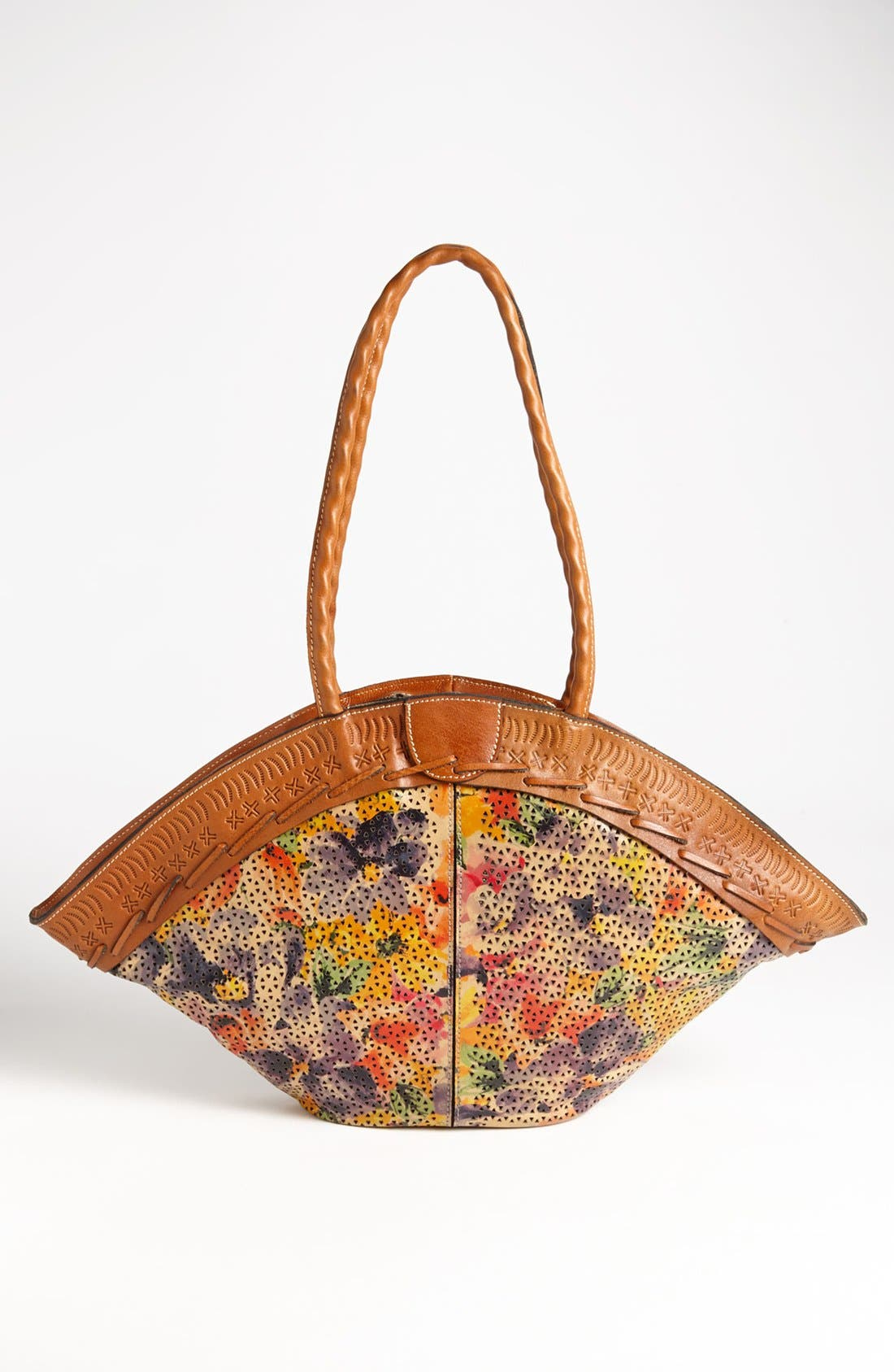 Alternate Image 4  - Patricia Nash 'Trope Dome' Glazed Tote, Medium