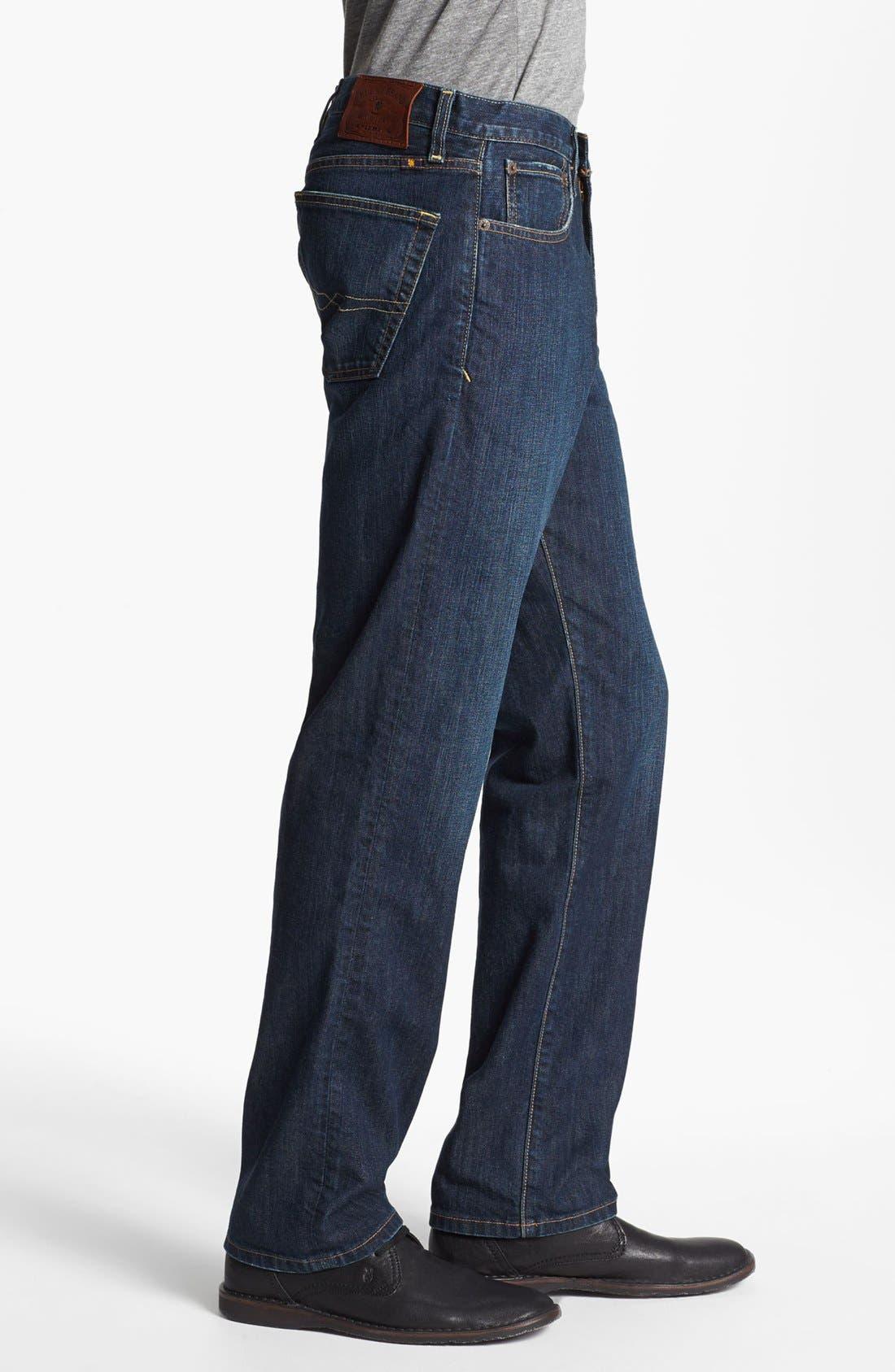Alternate Image 3  - Lucky Brand '329 Classic' Straight Leg Jeans (Murrell)