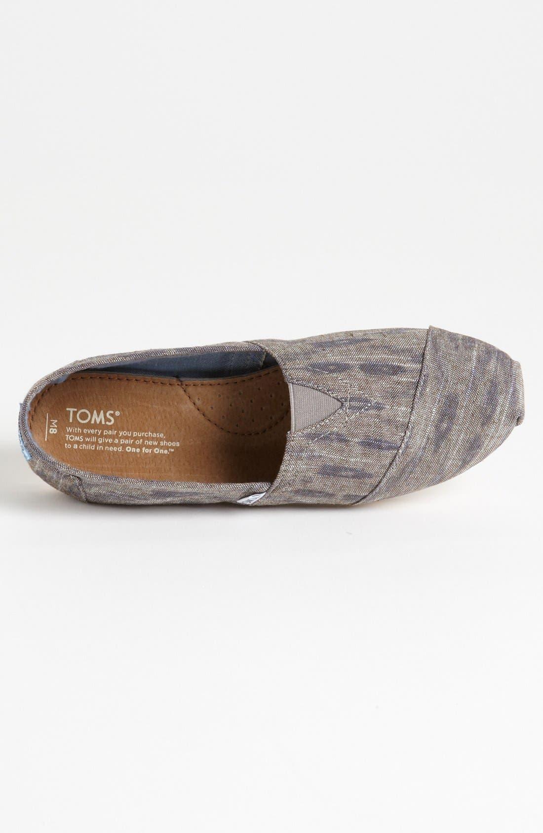 Alternate Image 3  - TOMS 'Classic' Linen Slip-On (Men)