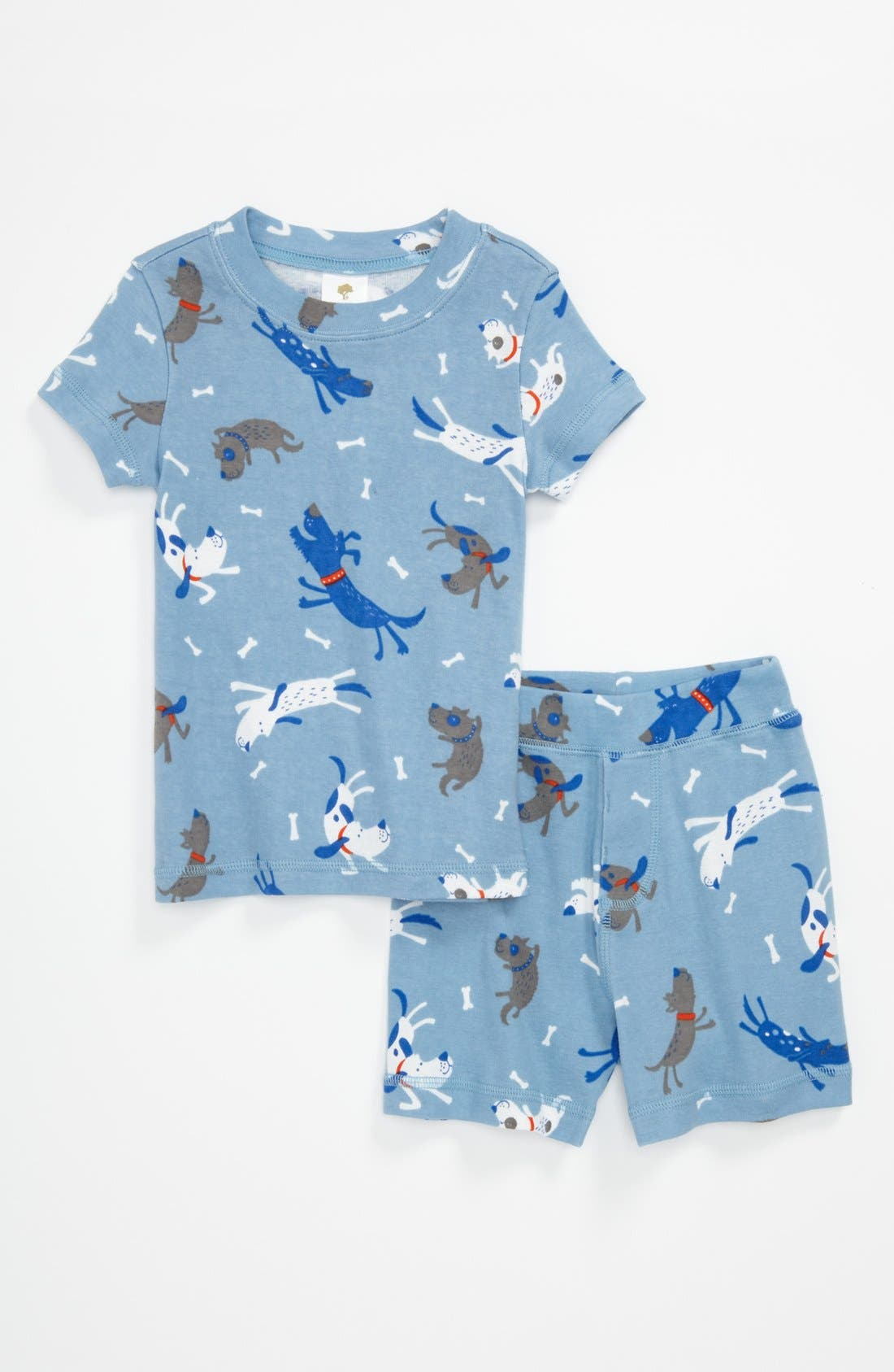 Alternate Image 1 Selected - Tucker + Tate Two Piece Fitted Pajamas (Toddler)