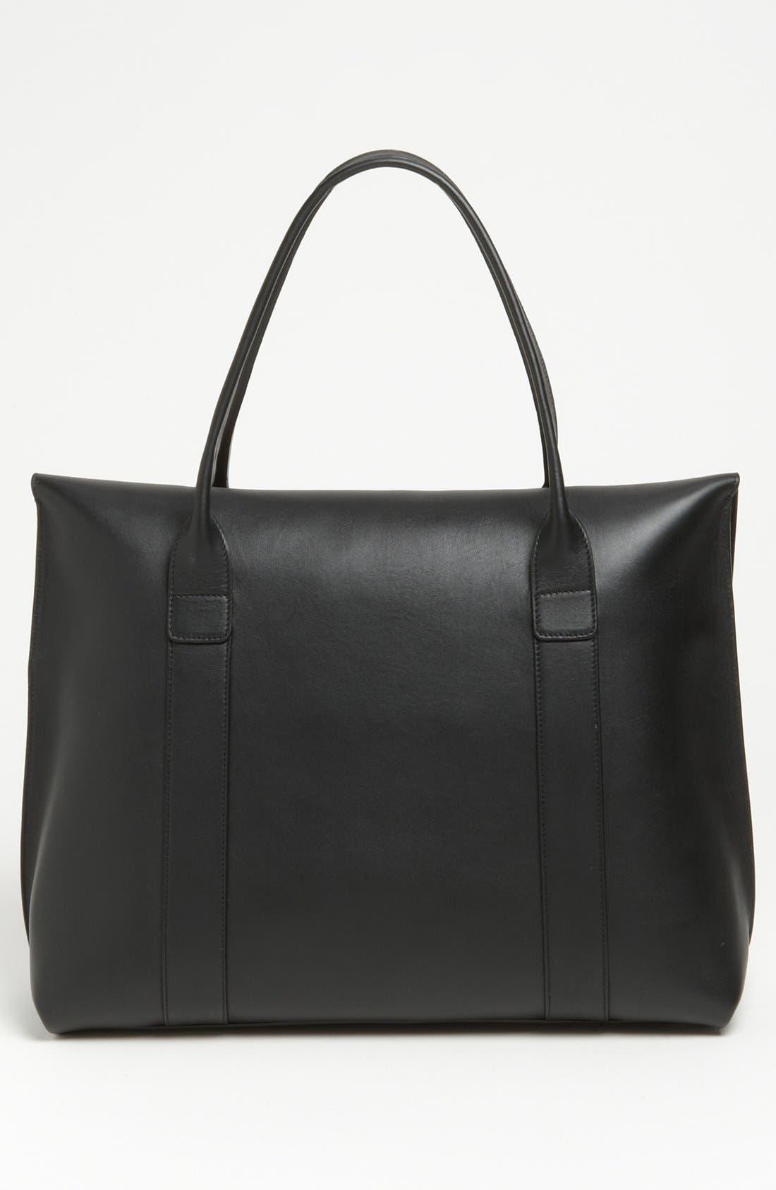 Alternate Image 4  - Salvatore Ferragamo 'Large Sookie' Leather Shopper