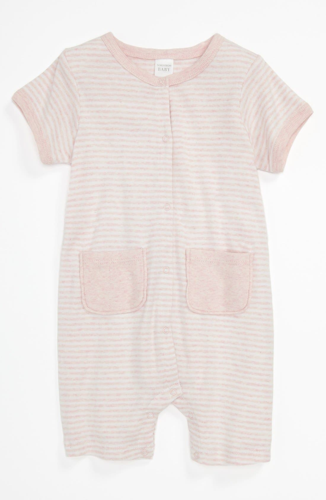 Alternate Image 1 Selected - Nordstrom Baby 'Welcome Home' Romper (Baby)