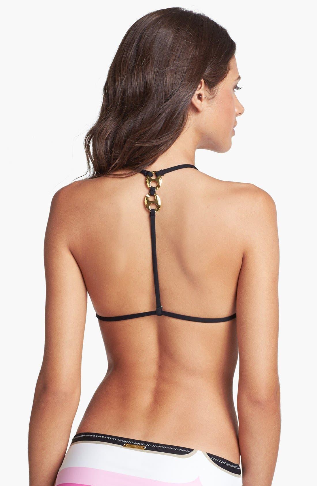 Alternate Image 2  - Trina Turk 'Avalon Surf Club' Halter Bikini Top (Online Only)