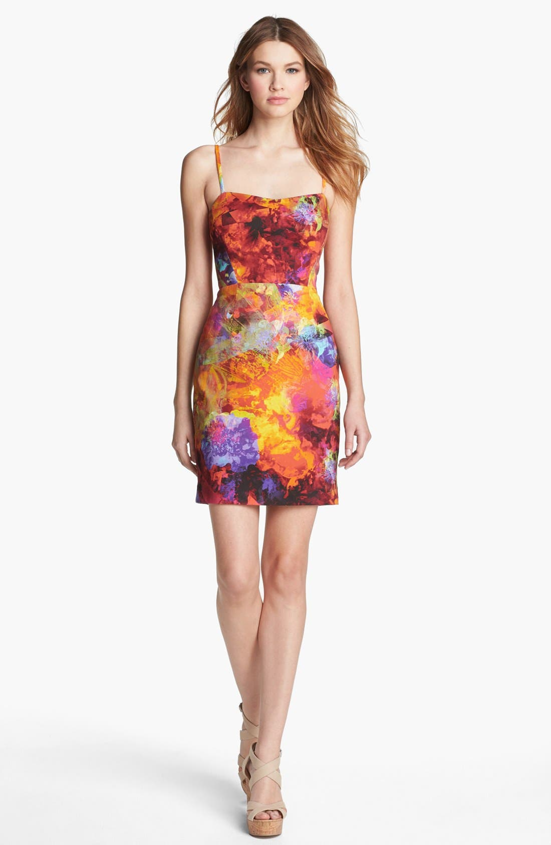 Alternate Image 1 Selected - LABEL by five twelve Print Sheath Dress