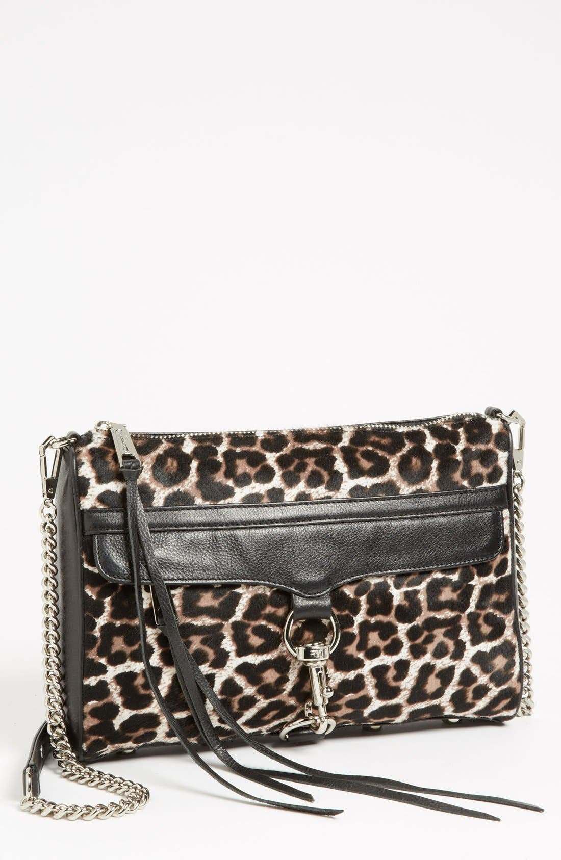 Alternate Image 1 Selected - Rebecca Minkoff 'MAC Clutch' Calf Hair Crossbody Bag, Small