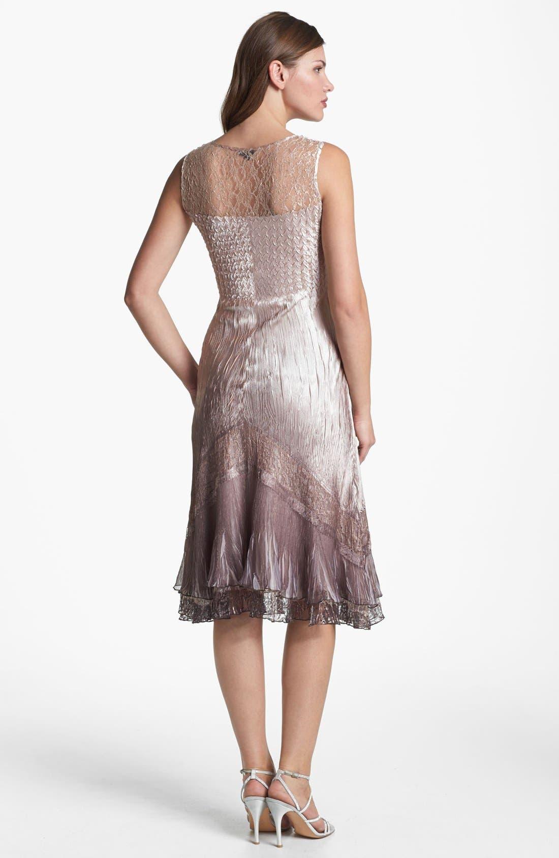 Alternate Image 3  - Komarov Textured Satin Dress & Jacket