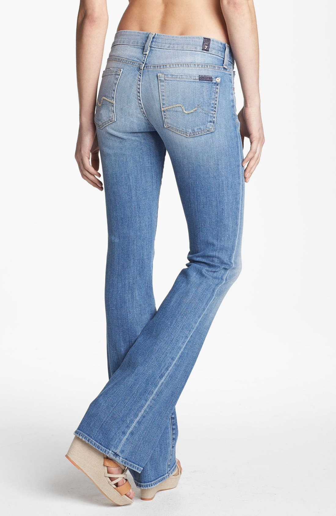 Alternate Image 2  - 7 For All Mankind® 'Kimmie' Bootcut Jeans (Summer Canyon Mountain)