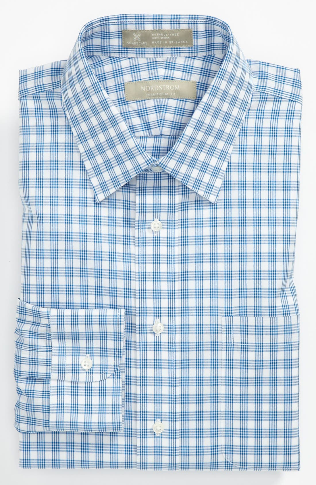 Main Image - Nordstrom Smartcare™ Traditional Fit Non-Iron Dress Shirt