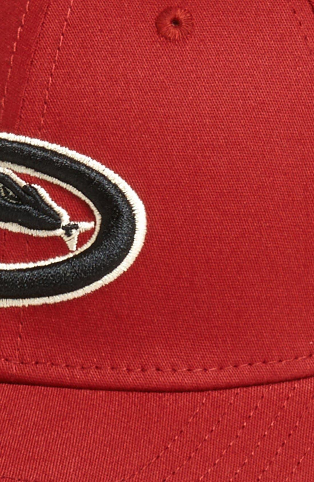 Alternate Image 2  - New Era Cap 'Arizona Diamondbacks - Tie Breaker' Baseball Cap (Big Boys)