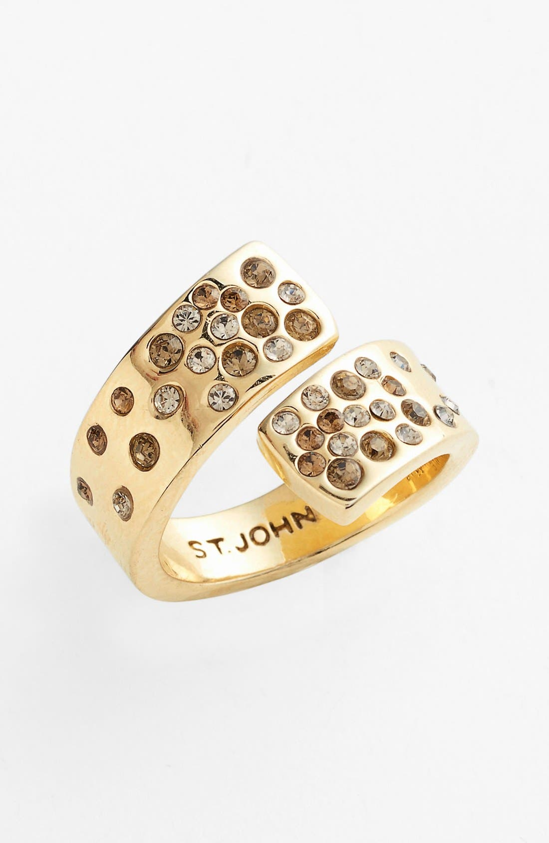Main Image - St. John Collection Crystal Wrap Ring