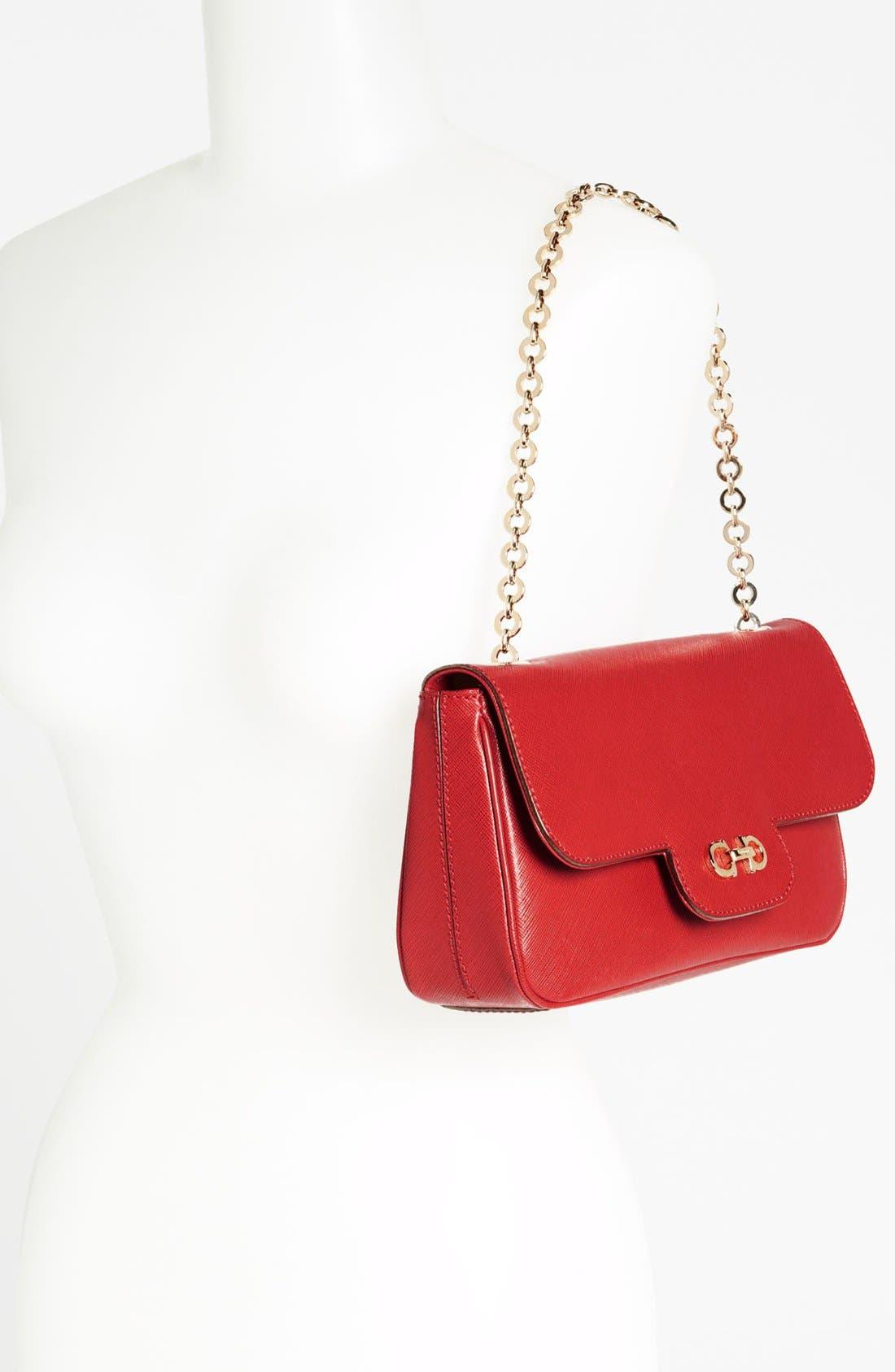 Alternate Image 2  - Salvatore Ferragamo 'Luciana' Leather Shoulder Bag