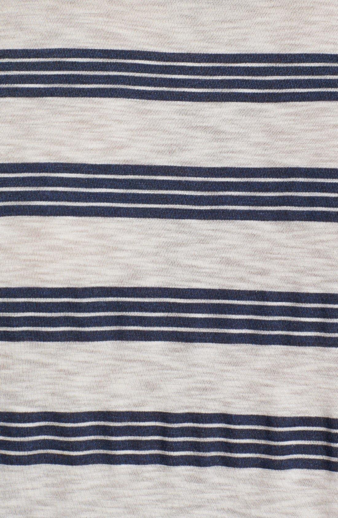 Alternate Image 3  - 7 For All Mankind® Slub Stripe Jersey Polo