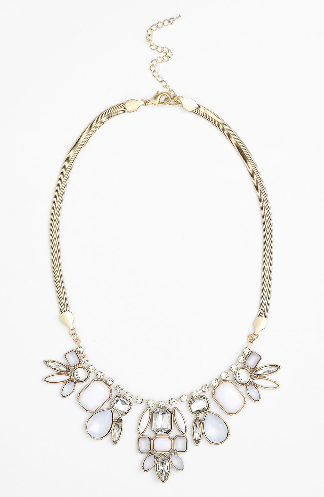 Main Image - Lydell NYC Crystal Bib Necklace