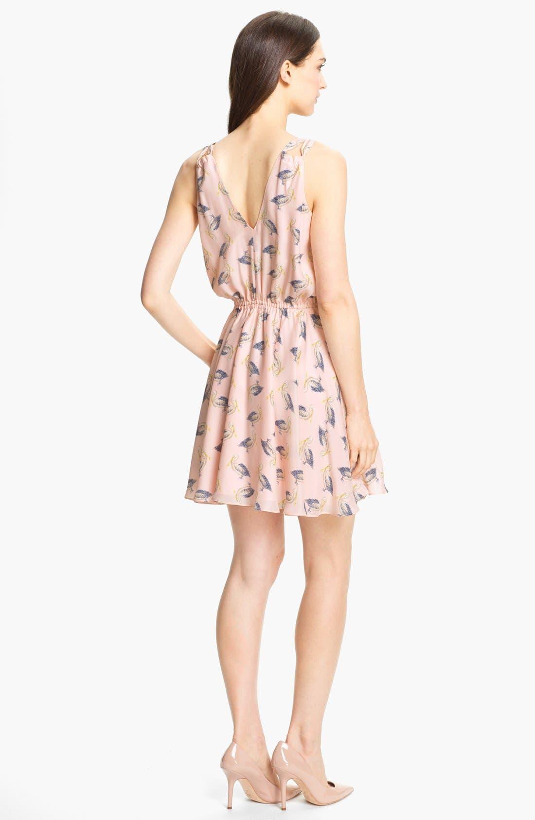 Alternate Image 2  - Milly 'Julie' Silk Blouson Dress