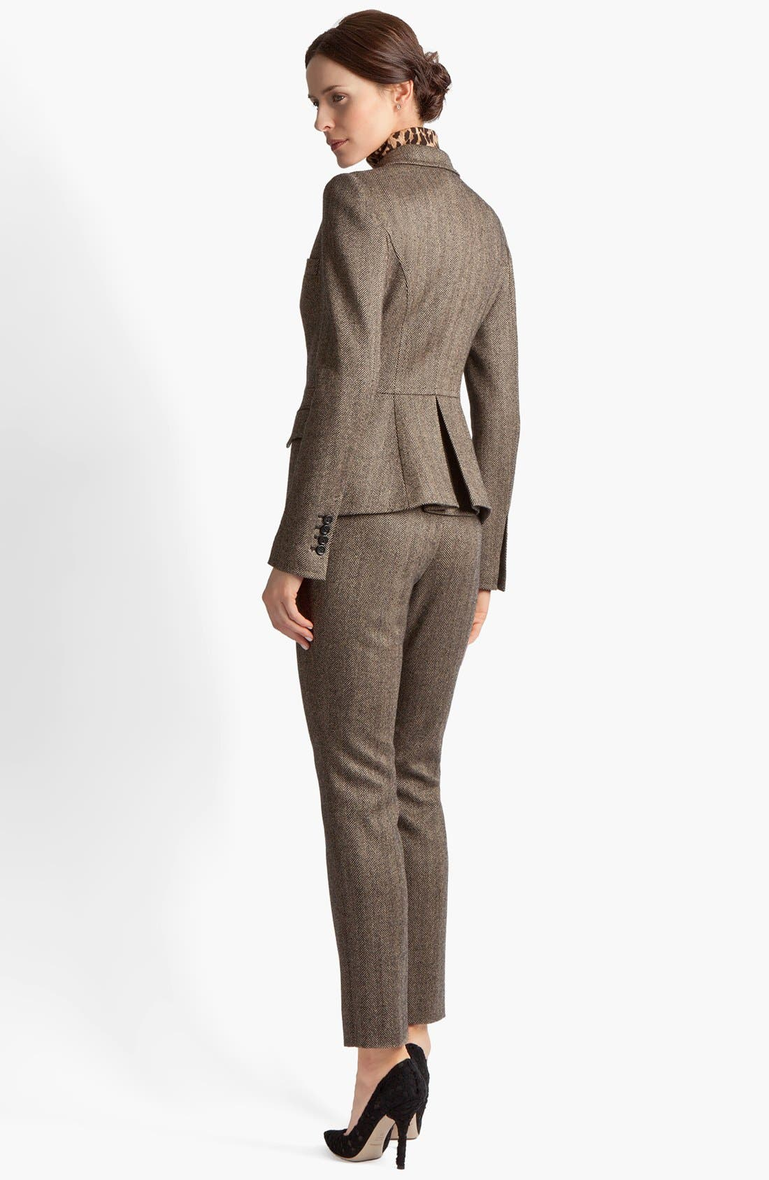 Alternate Image 5  - Dolce&Gabbana Stretch Herringbone Jacket