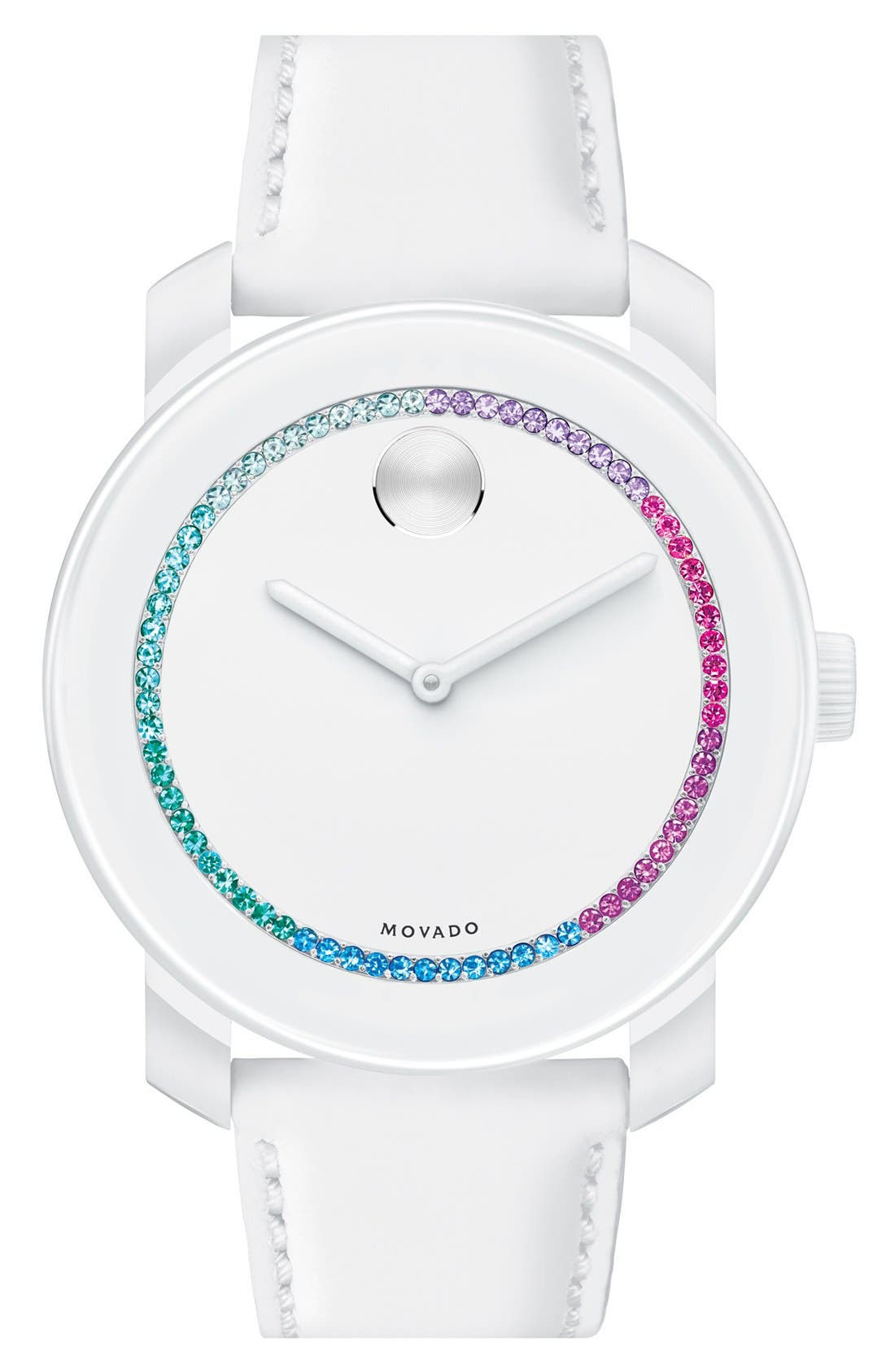 Main Image - Movado 'Bold' Crystal Spectrum Watch, 42mm