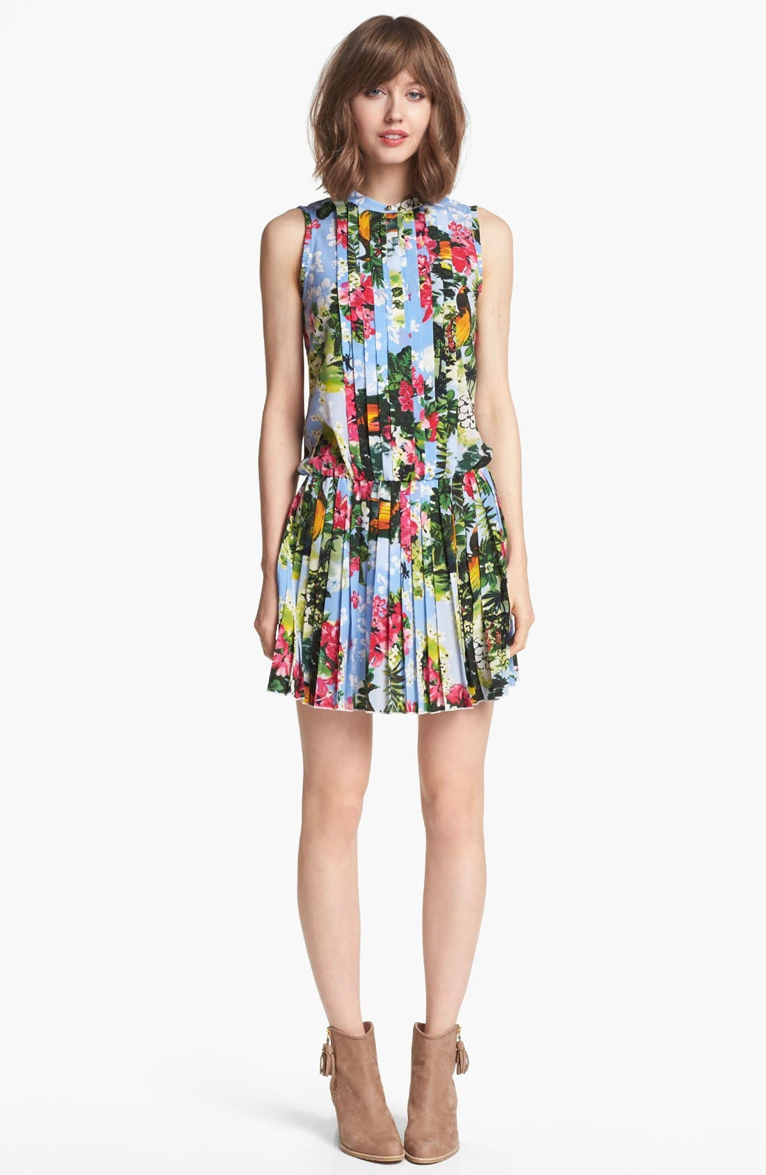 Alternate Image 1 Selected - Juicy Couture 'Paradise' Floral Dress
