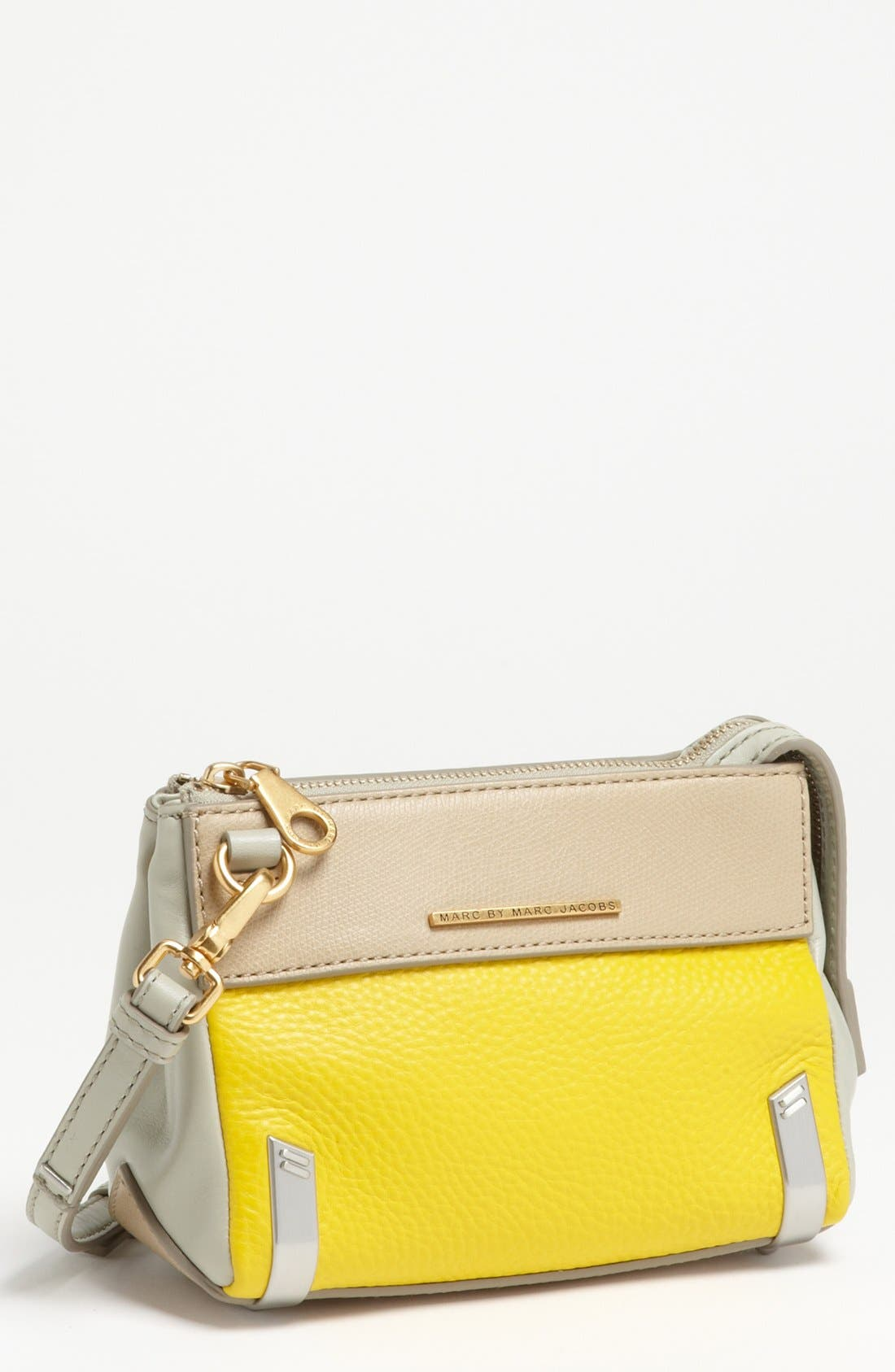 Main Image - MARC BY MARC JACOBS 'Sheltered Island' Colorblock Leather Camera Bag