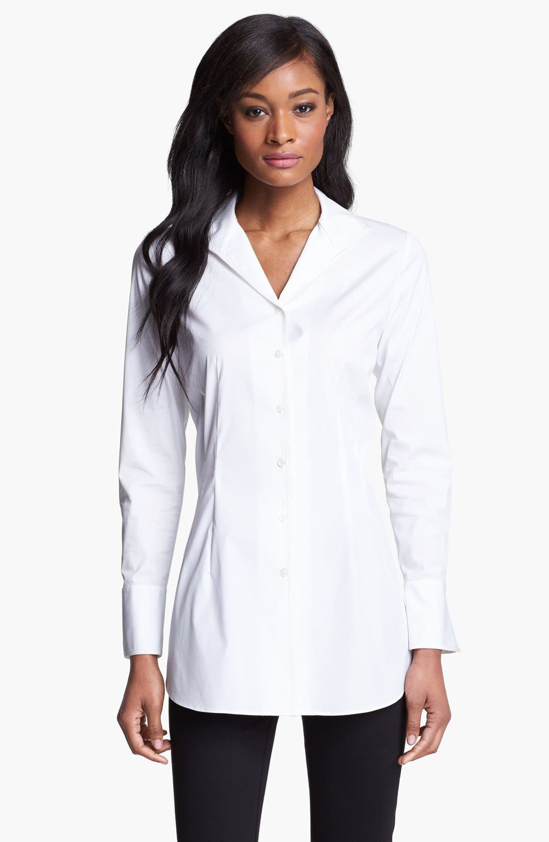 Main Image - Lafayette 148 New York 'Excursion Stretch' Tunic