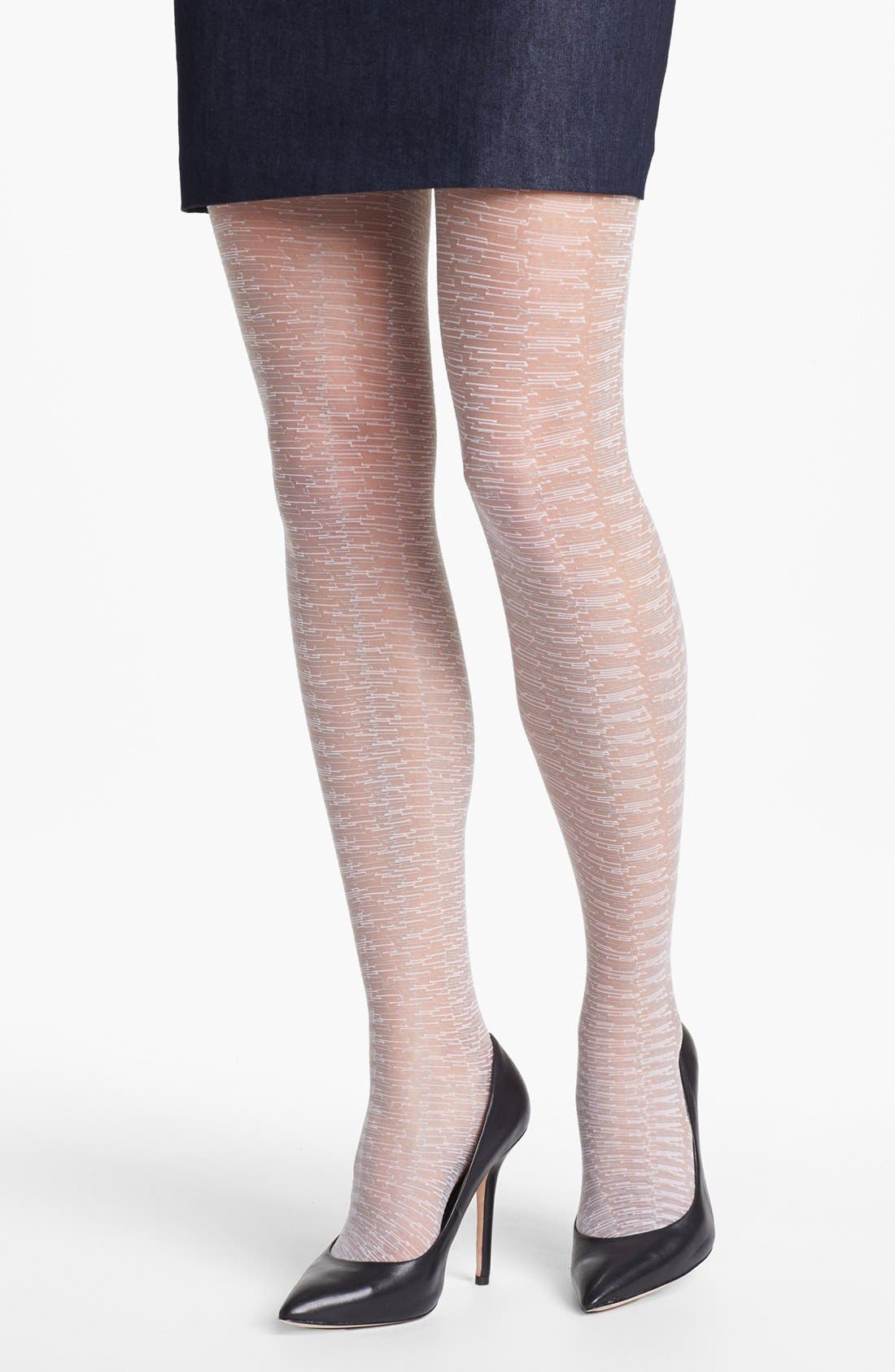 Alternate Image 1 Selected - Calvin Klein Sheer Textured Pantyhose