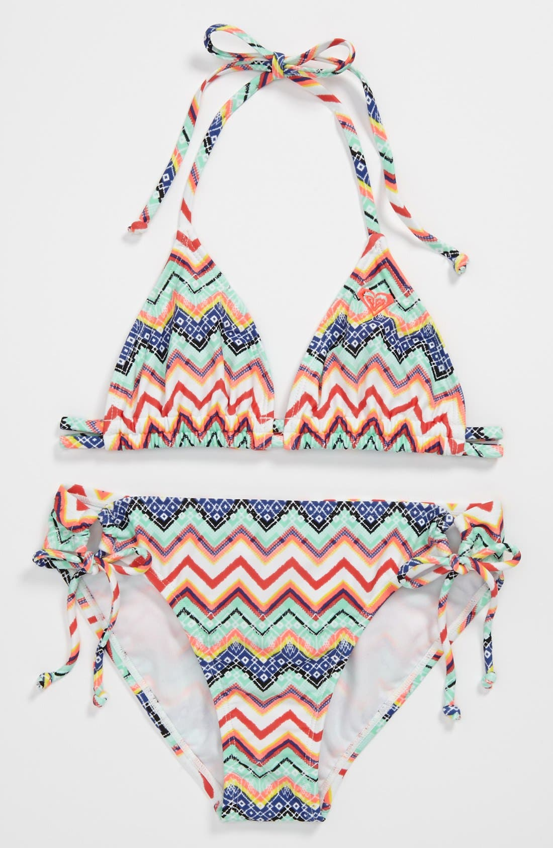 Alternate Image 1 Selected - Two Piece Swimsuit (Big Girls)