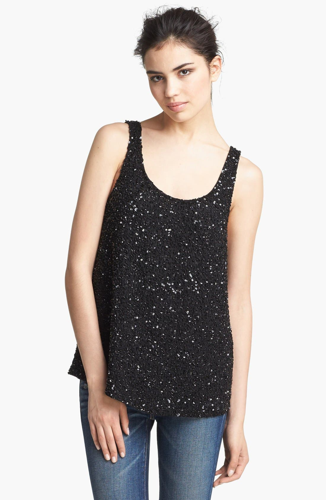 Alternate Image 1 Selected - Haute Hippie 'Junk' Sequin Tank