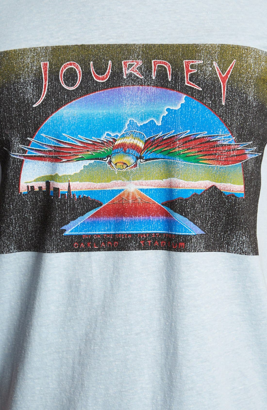 Alternate Image 3  - Retro Brand 'Journey' T-Shirt