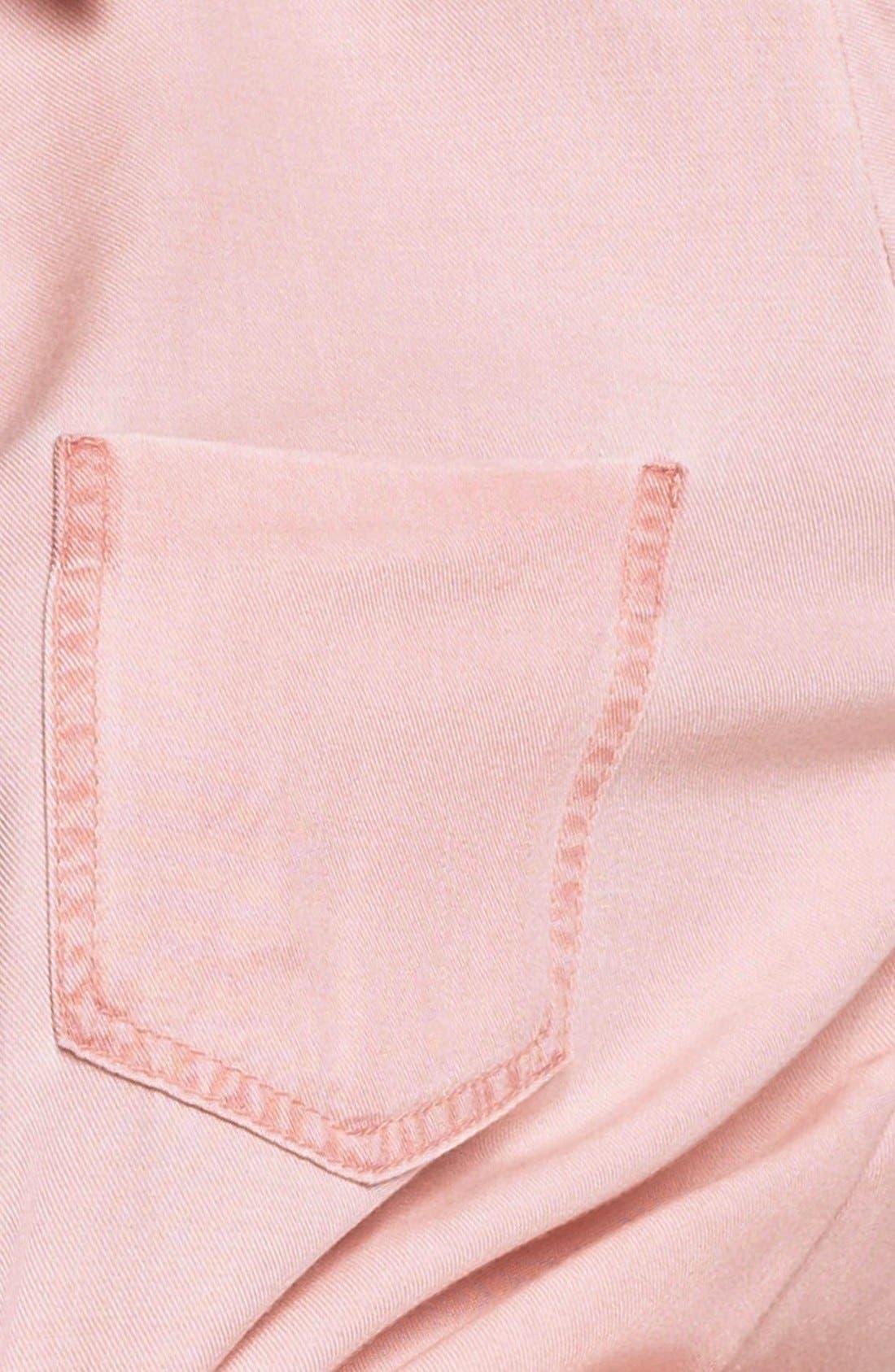 Alternate Image 3  - Rubbish Oversized Menswear Shirt (Juniors)