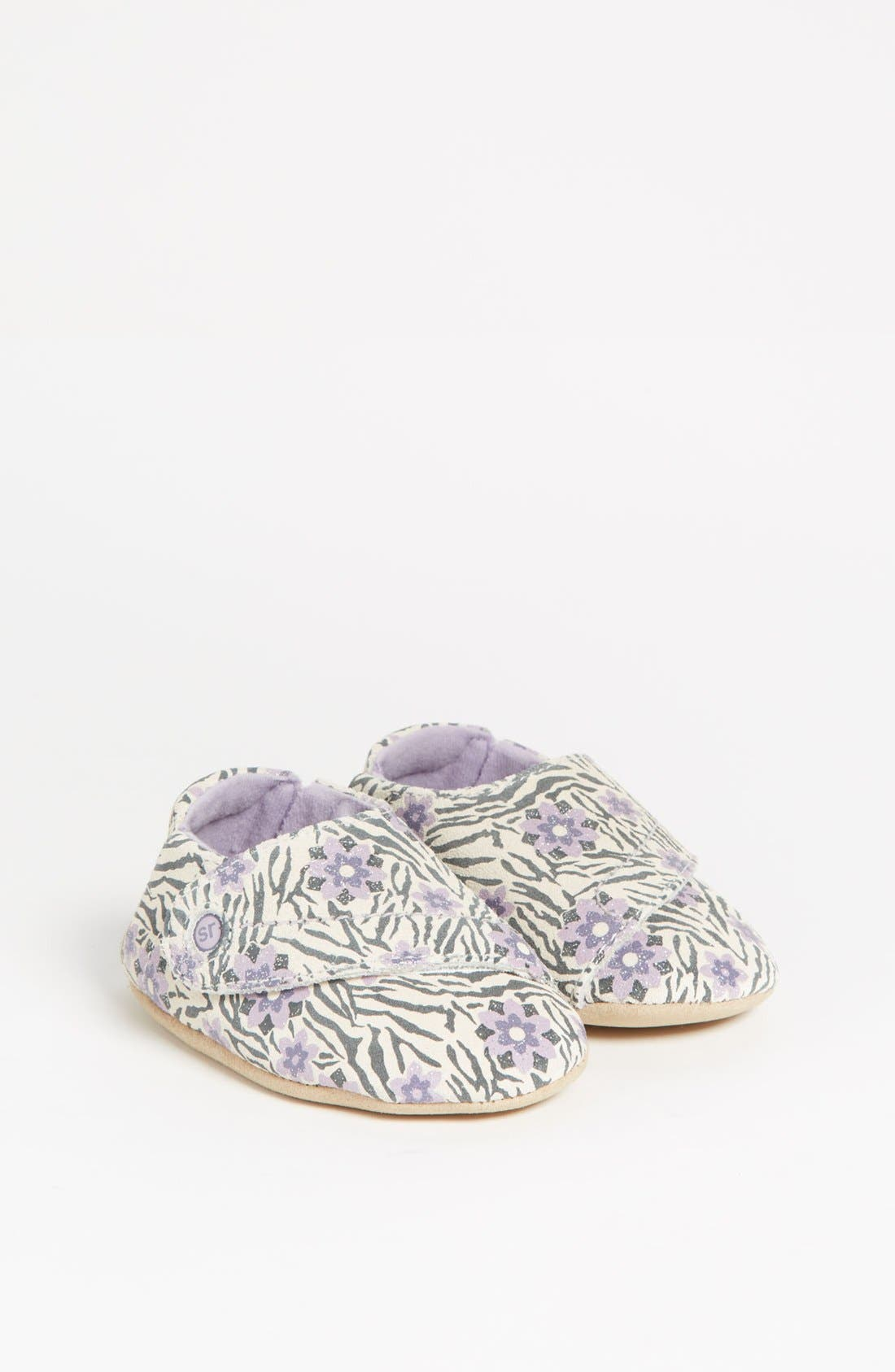 Alternate Image 1 Selected - Stride Rite 'Jungle Bloom' Crib Shoe (Baby) (Online Only)