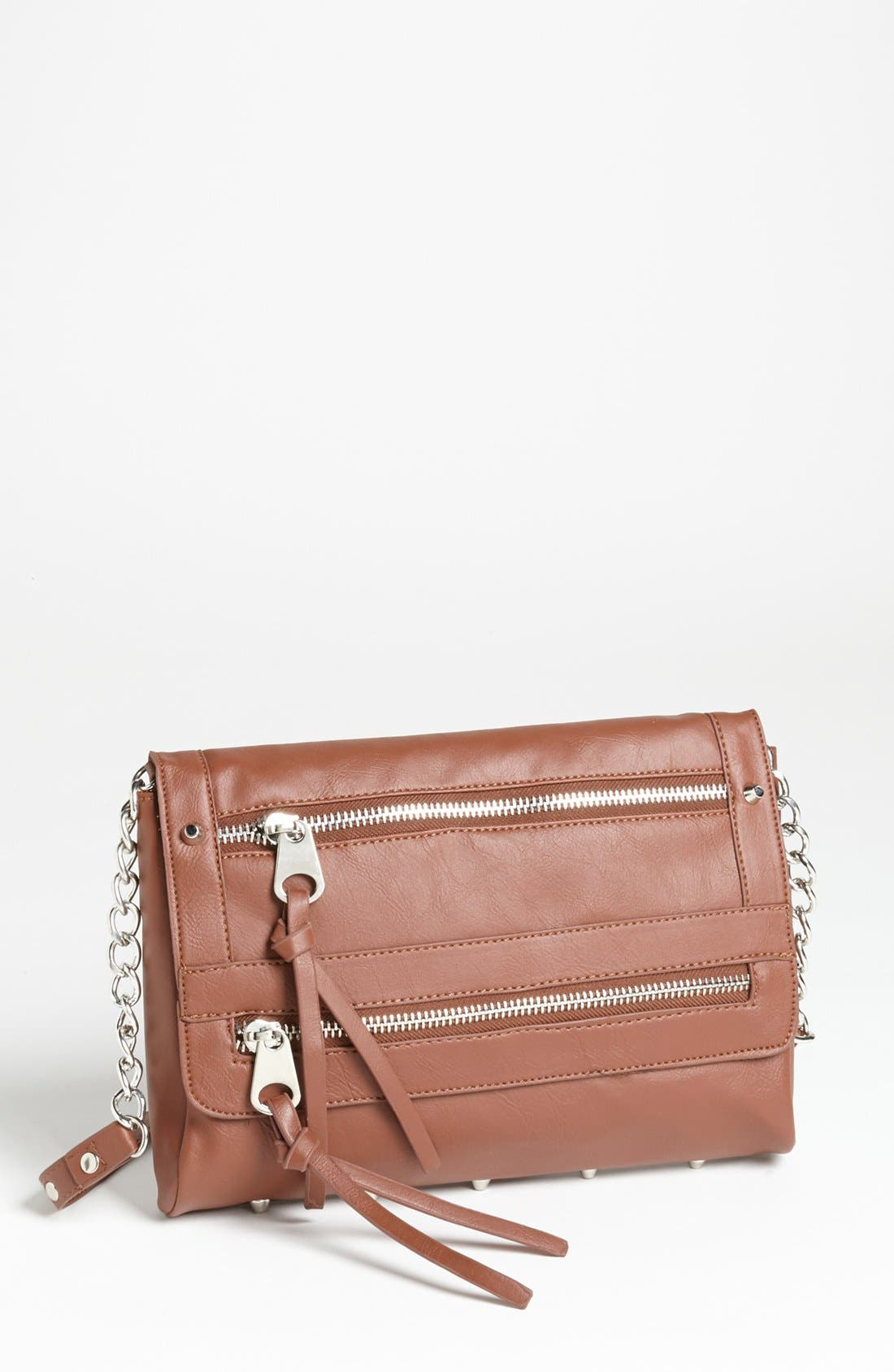 Main Image - Cesca '15th Street' Faux Leather Crossbody Bag, Small (Juniors) (Online Only)