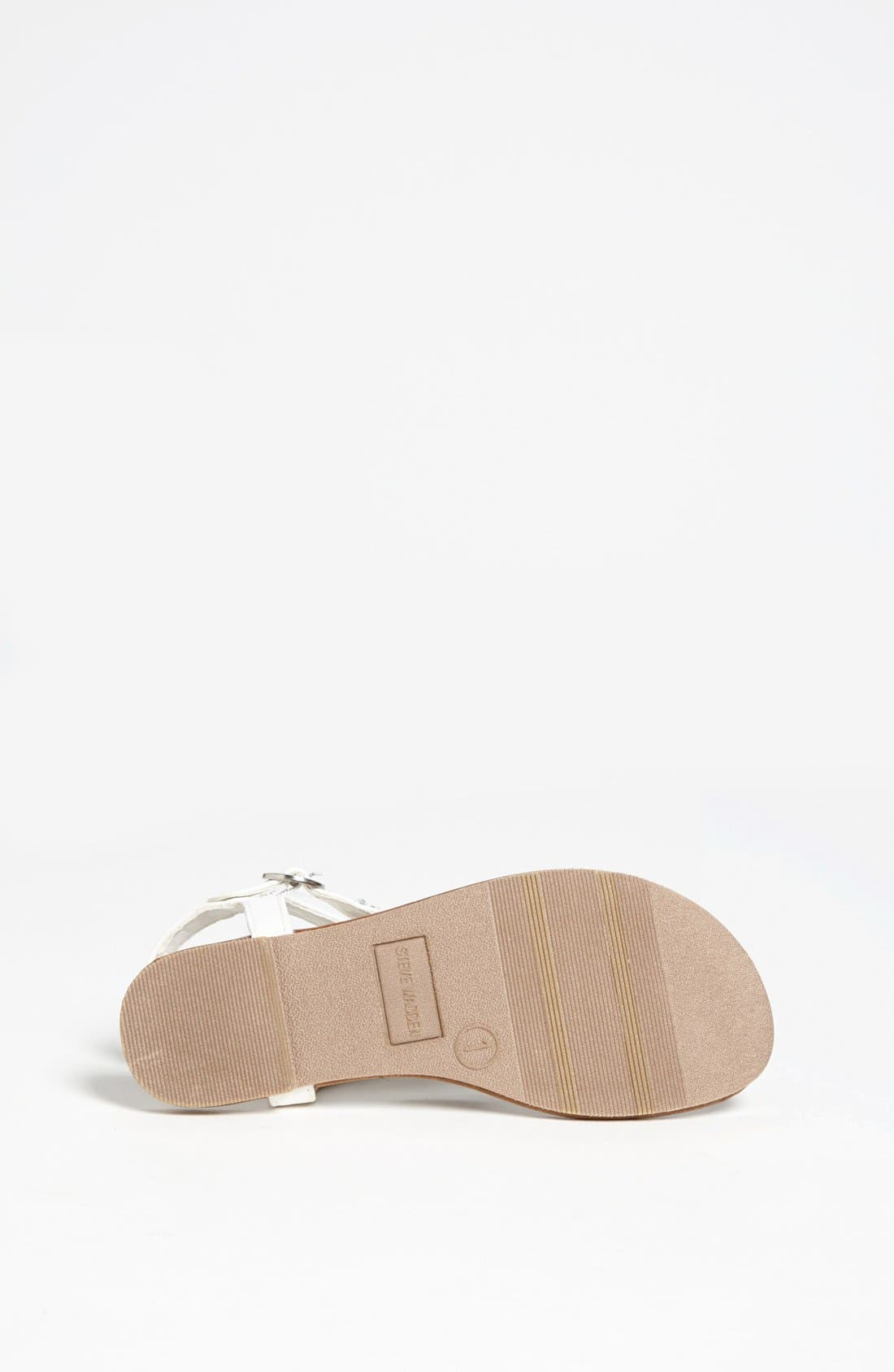 Alternate Image 4  - Steve Madden 'Beyond' Sandal (Toddler, Little Kid & Big Kid)