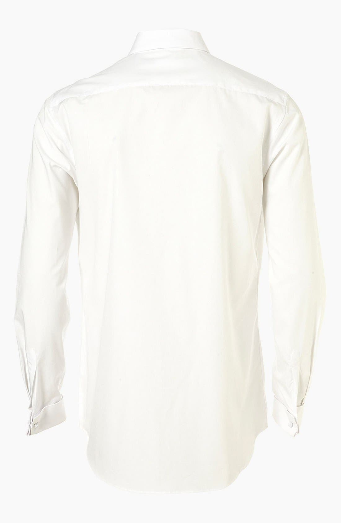 Alternate Image 2  - Topman 'Smart' Slim Fit Dress Shirt