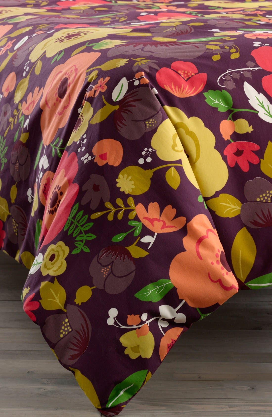Alternate Image 1 Selected - Nordstrom at Home 'Poppy' Duvet Cover