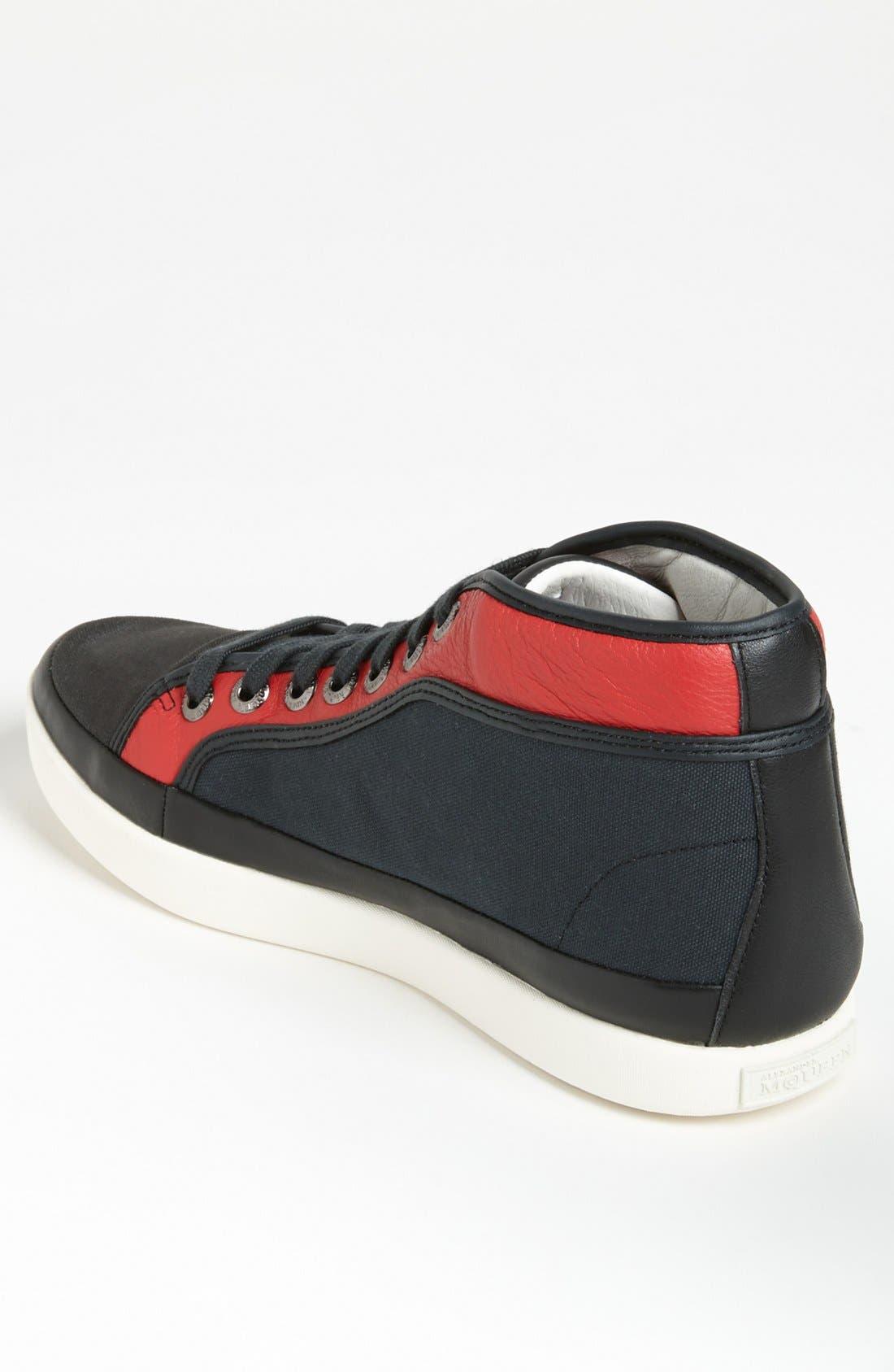 Alternate Image 2  - PUMA 'Alexander McQueen - Rabble Mid' Sneaker