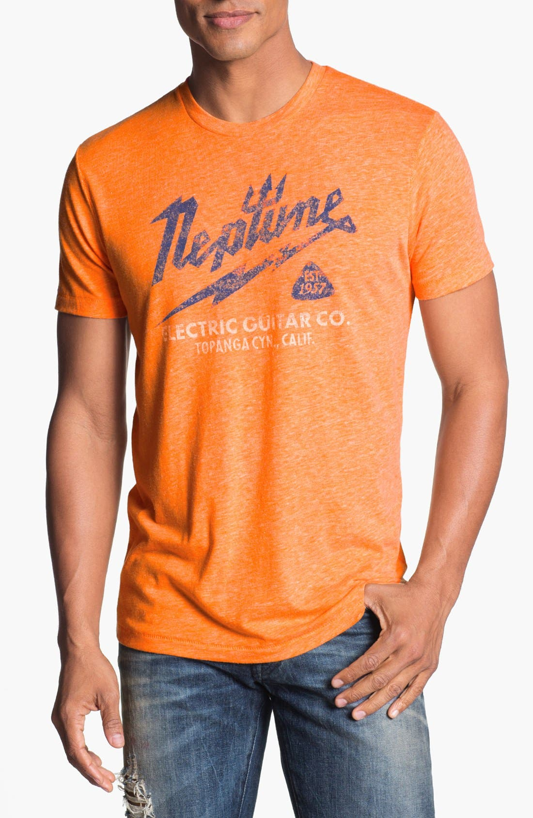 Alternate Image 1 Selected - Lucky Brand 'Neptune Electric' T-Shirt