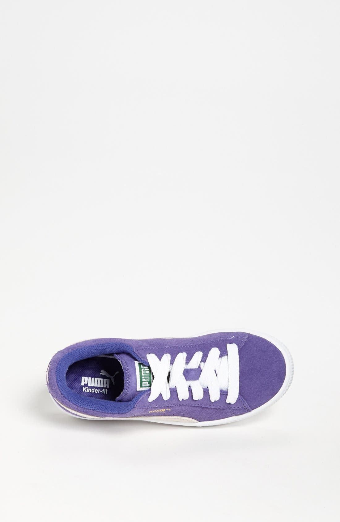 Alternate Image 3  - PUMA 'Jr.' Suede Sneaker (Toddler, Little Kid & Big Kid)