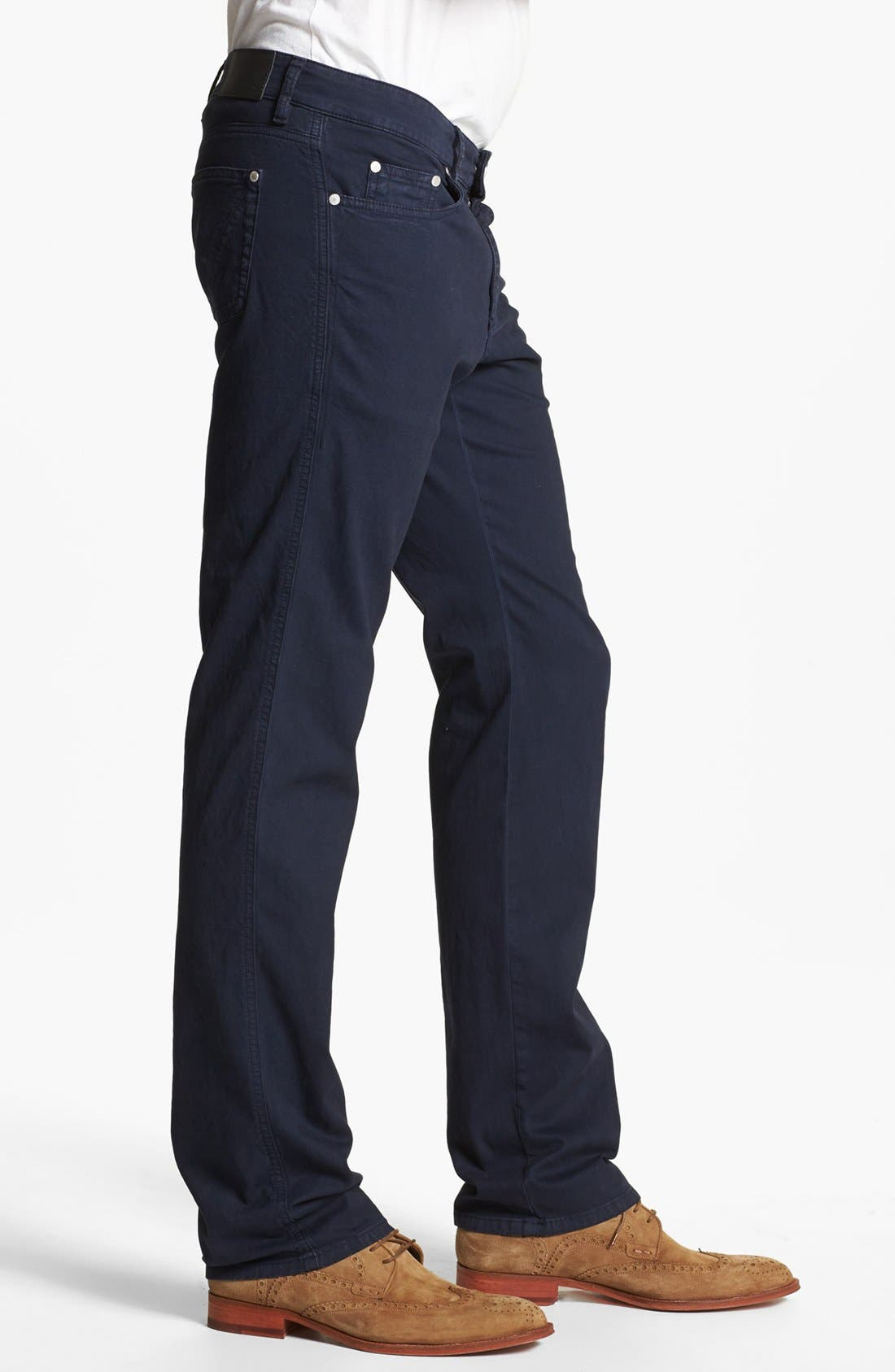 Alternate Image 3  - Z Zegna Slim Fit Jeans