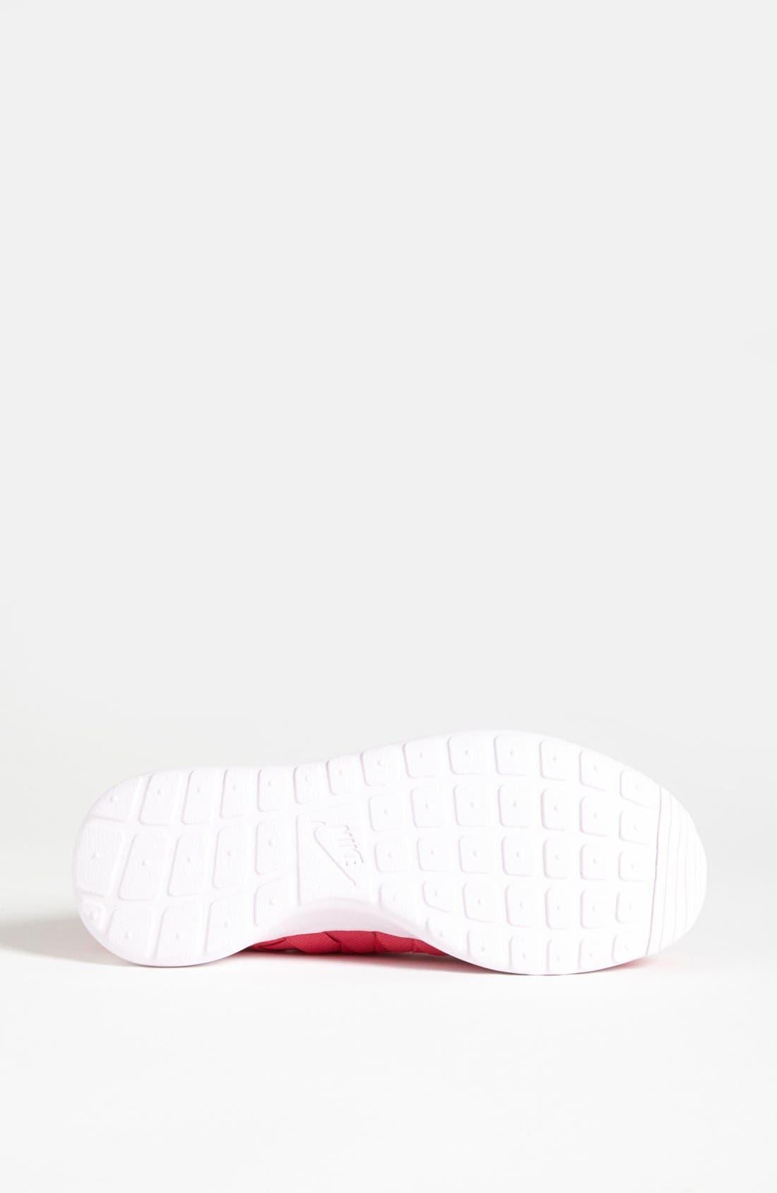 Alternate Image 4  - Nike 'Roshe Run' Woven Sneaker (Women)