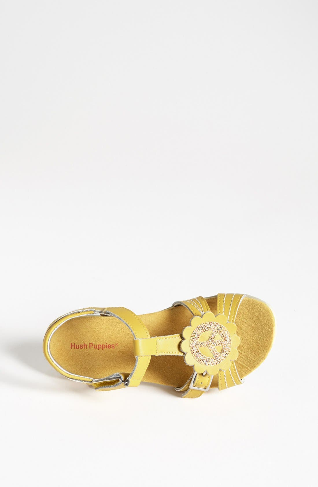Alternate Image 3  - Hush Puppies® 'Peace' Sandal (Toddler, Little Kid & Big Kid)
