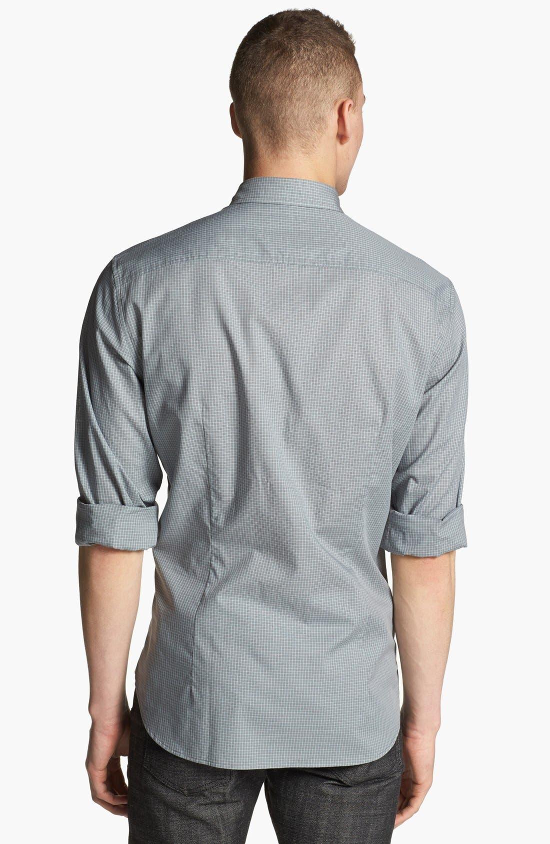 Alternate Image 2  - John Varvatos Star USA Luxe Fit Sport Shirt