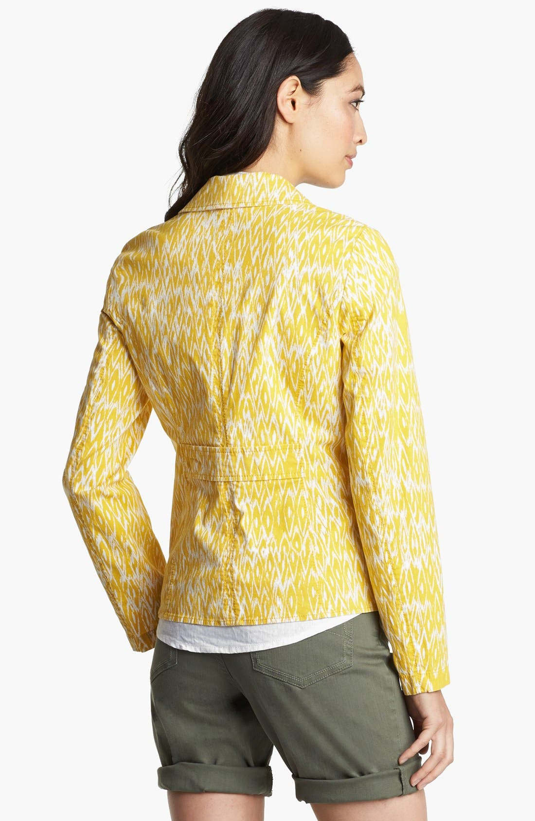 Alternate Image 3  - Amber Sun 'Megan' Print Blazer