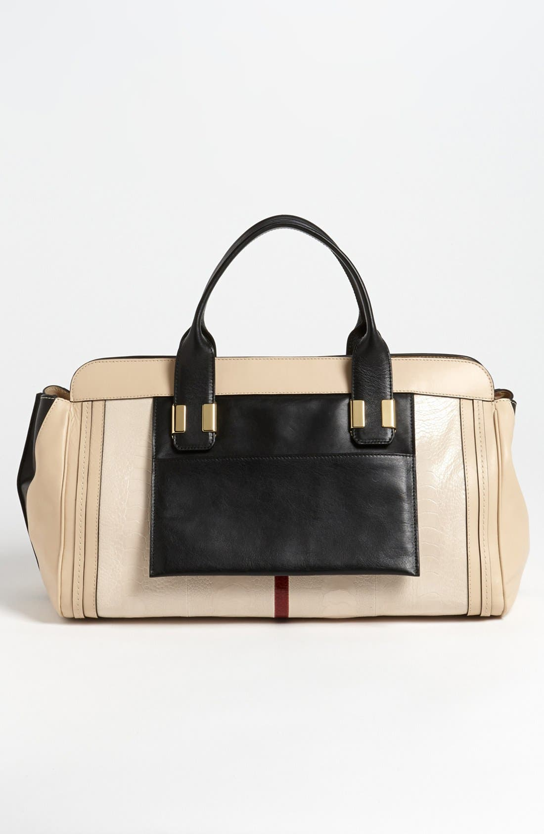 Alternate Image 4  - Chloé 'Alice - Medium' Ostrich Leather Satchel