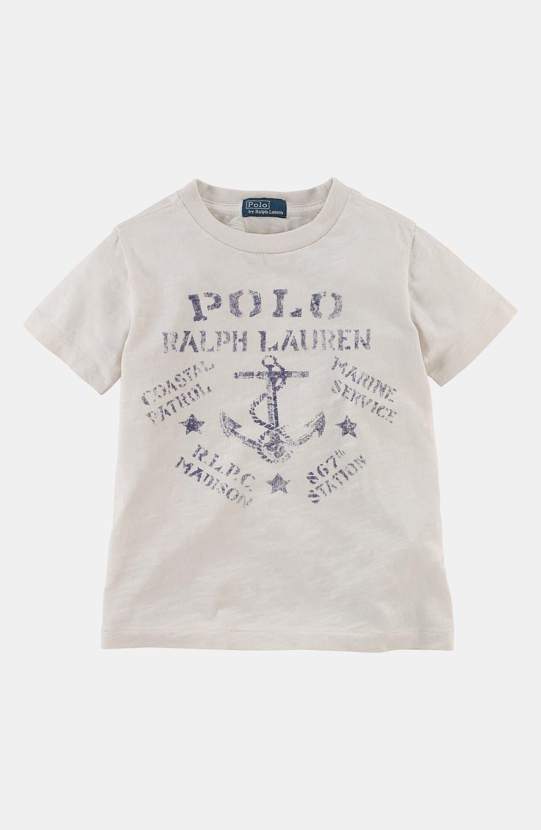 Alternate Image 1 Selected - Polo Ralph Lauren T-Shirt (Toddler Boys)